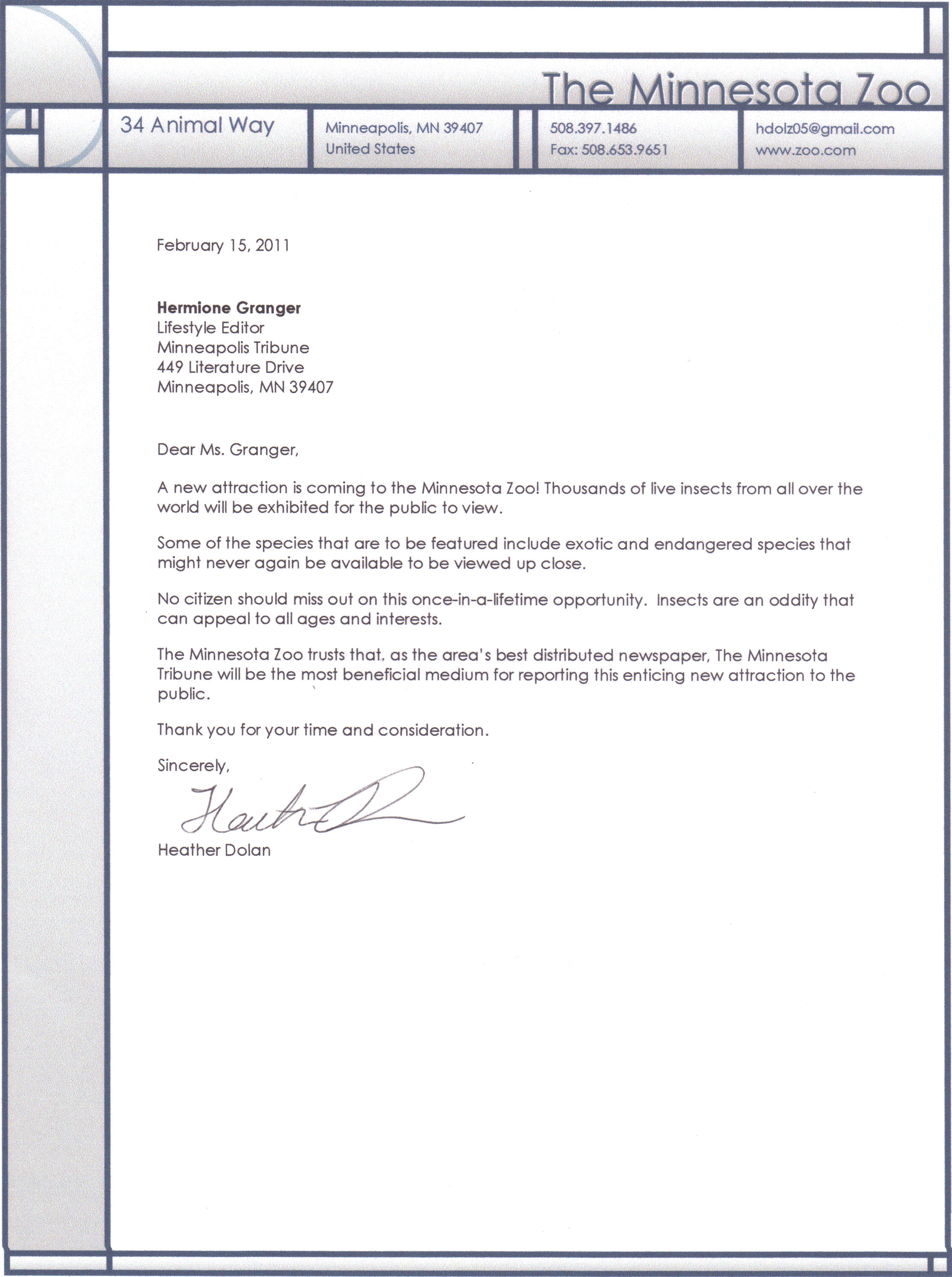 Resume Cover Letter Samples Executive